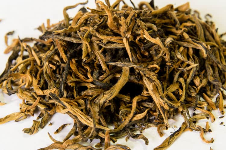 Golden Monkey Black tea from Yunnan China