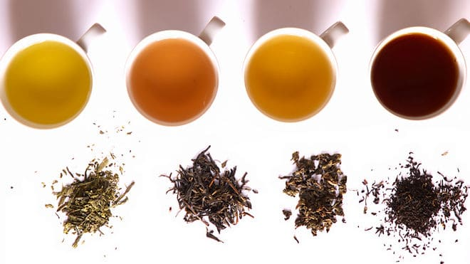 different types of loose leaf tea
