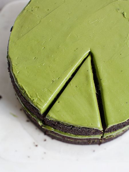 chocolate matcha cake recipe