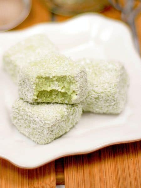 matcha coconut fudge recipe