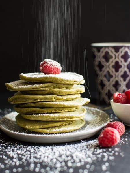 vegan green tea pancake recipe