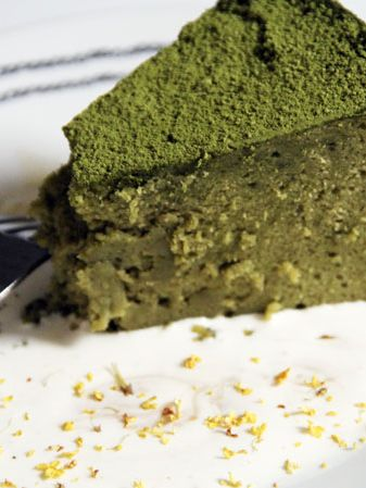 green tea cheesecake recipe