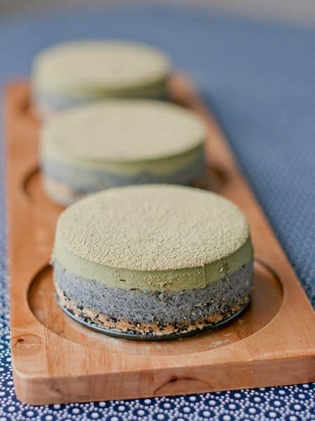 matcha sesame cheesecake recipe