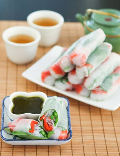 salmon spring roll recipe