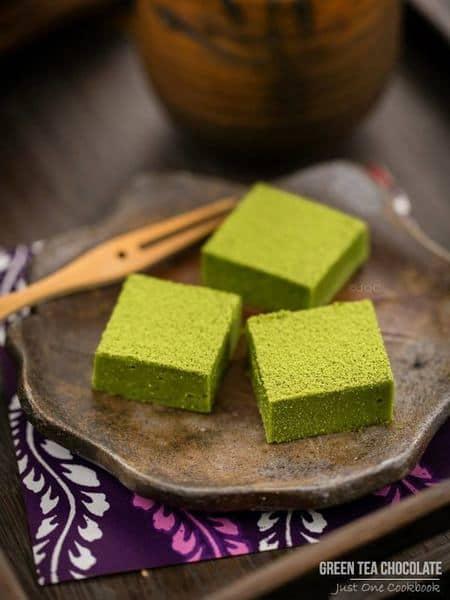 Green tea chocolate recipe