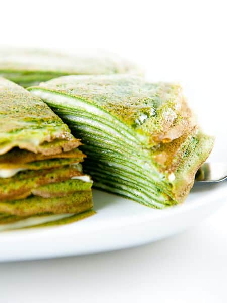 green tea mille crepes recipe