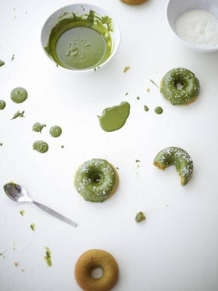 green tea doughnut recipe
