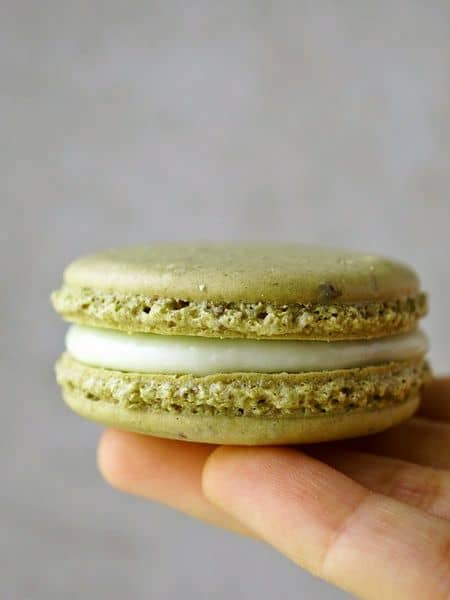 Green Tea Macarons recipe