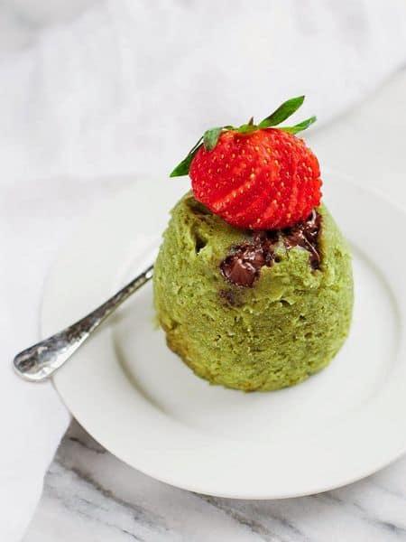 matcha mug cake recipe