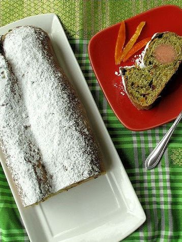 recipe for matcha stollen