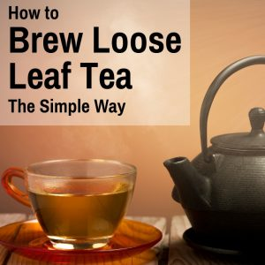 how to brew loose tea