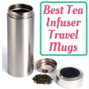 Tea Infuser Travel Mug For Loose Leaf Tea