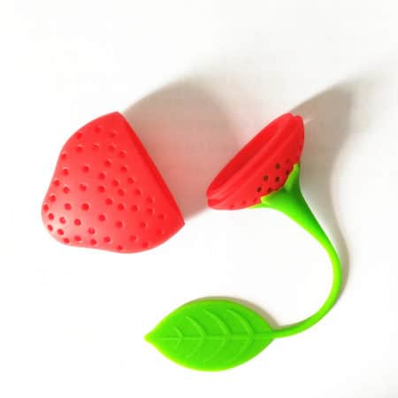strawberry silicone tea infuser