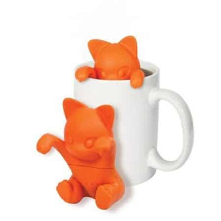 Cute Cartoon Cat Tea Filter