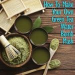make matcha water bomb mask