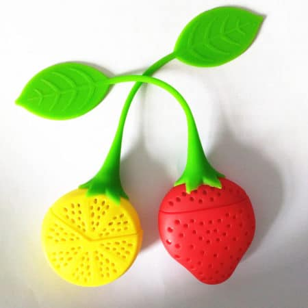 fruit shaped tea strainers