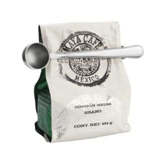 Stainless Steel Tea And Coffee Scoop with Bag Clip