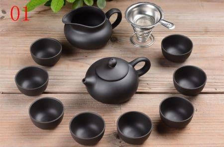Yixing Tea Set (11 Piece)