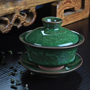 green porcelain gaiwan