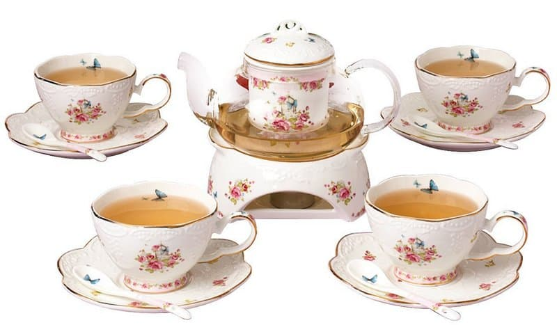 Jusalpha Fine China Set