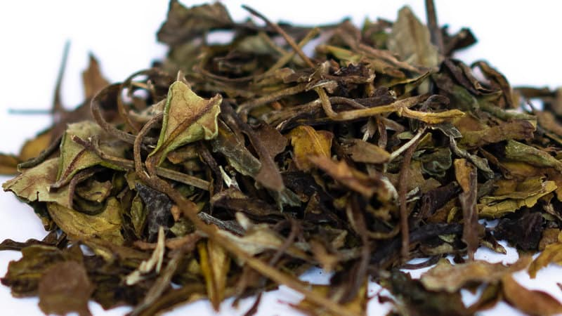White Peony Tea Leaves
