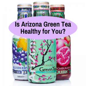 is arizona green tea healthy