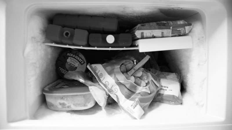 freezer full of things