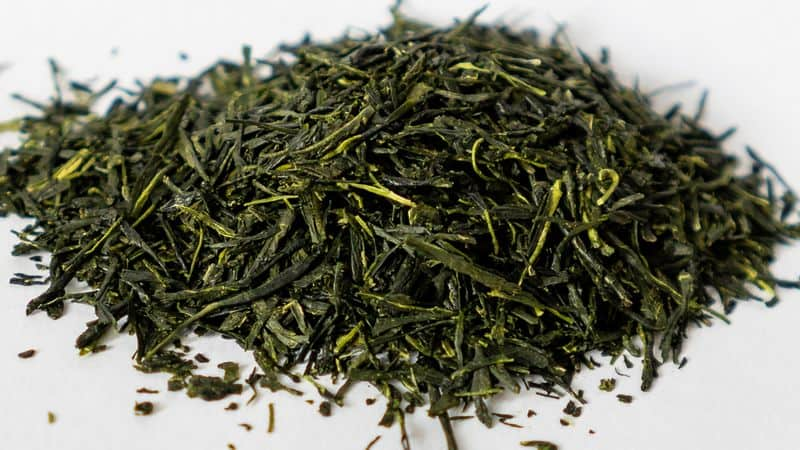 Gyokuro green tea loose leaves