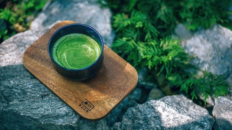 healthy matcha green tea