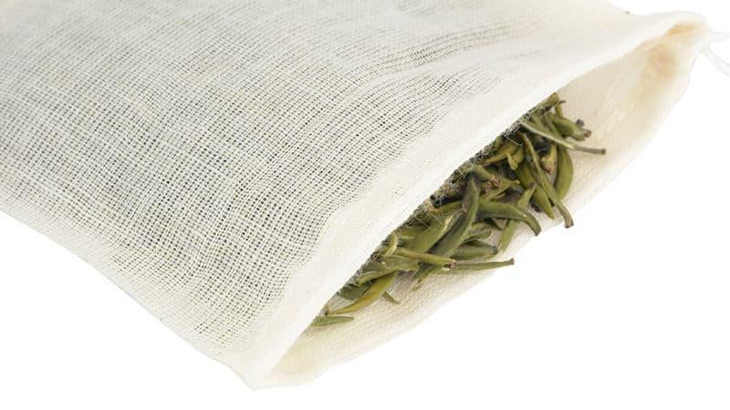 Tea in a DIY tea bag