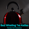 Top whistling tea kettle