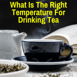 Tea at drinking temperature