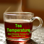 Tea cup at ideal temperature