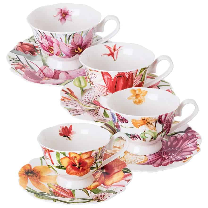 Eileen's Reserve teacup and saucer set