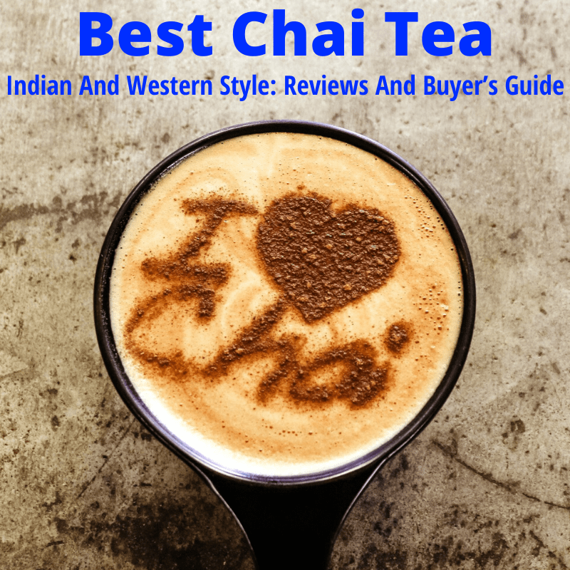 Best chai tea with cup art