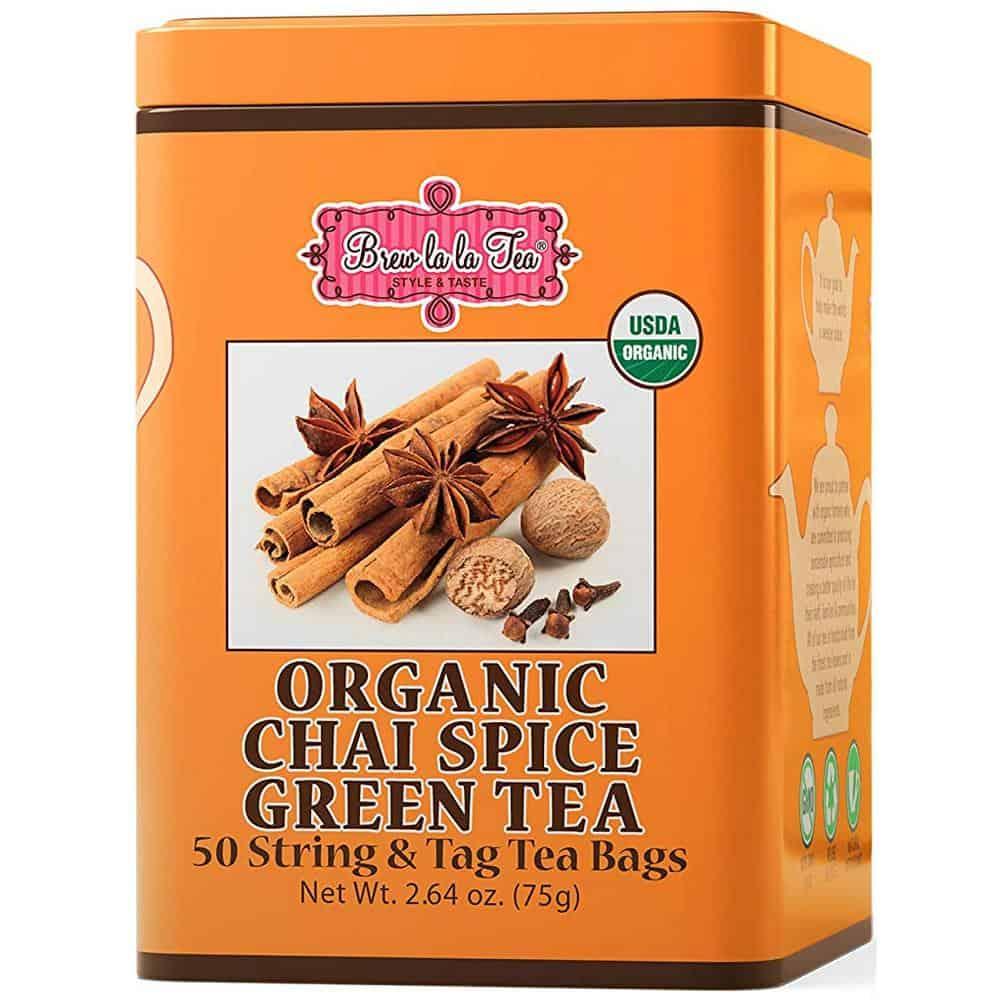 Brew La La Chai Spice Green Tea
