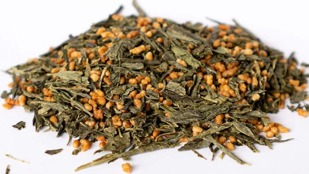 Genmaicha tea from Japan