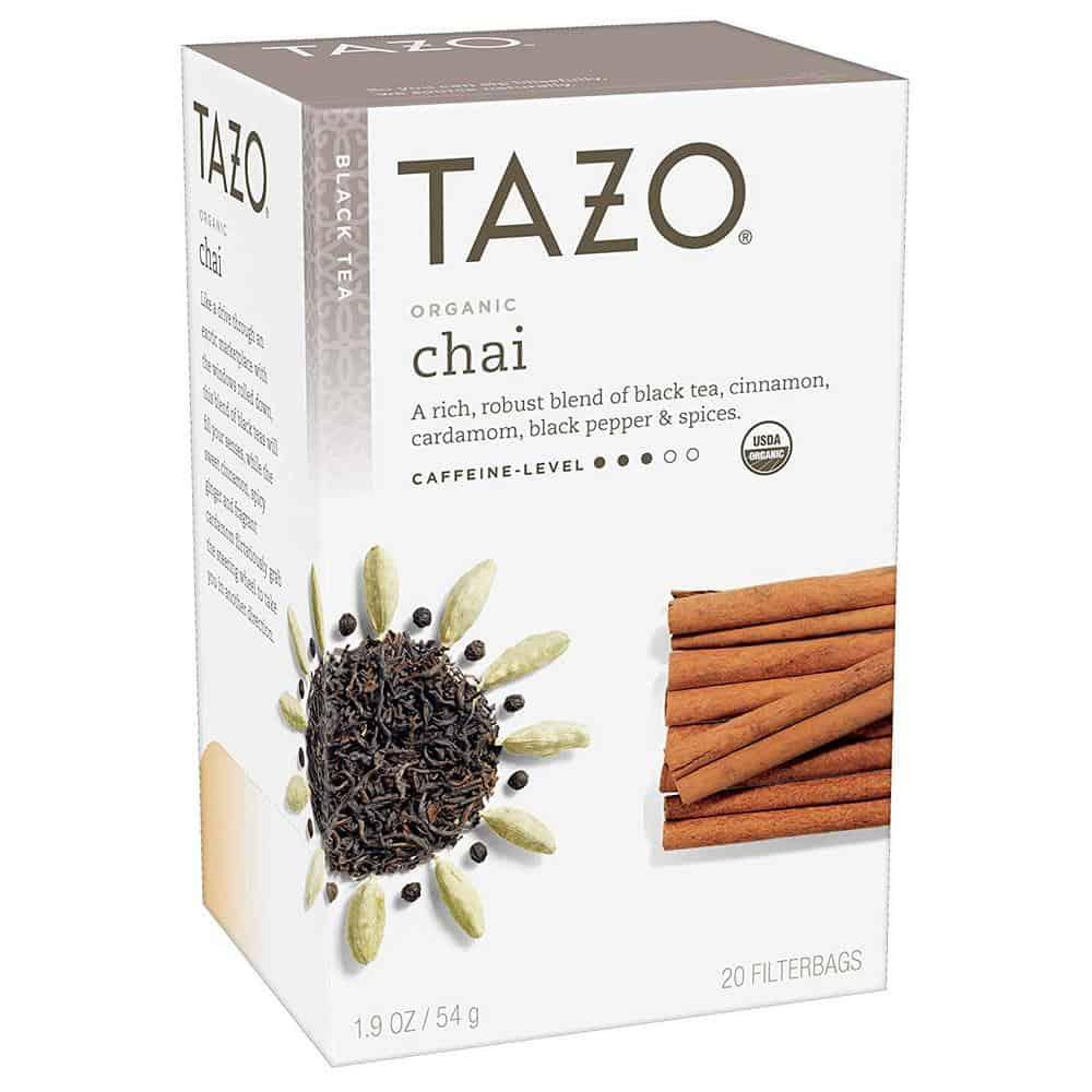 Tazo organic chai tea bags