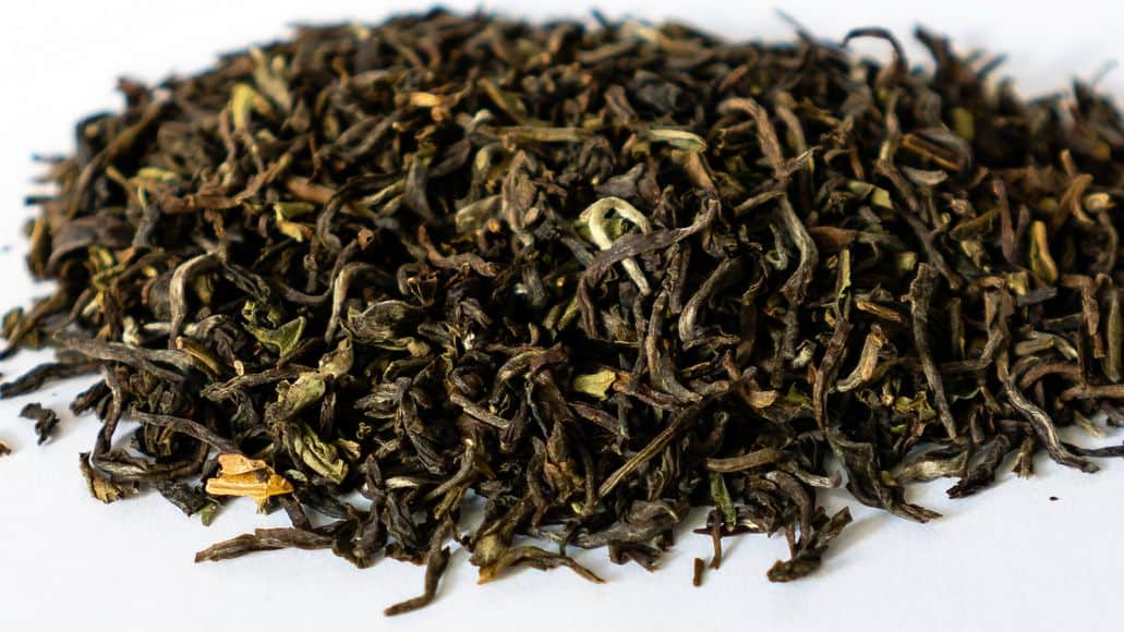 Darjeeling black tea from India