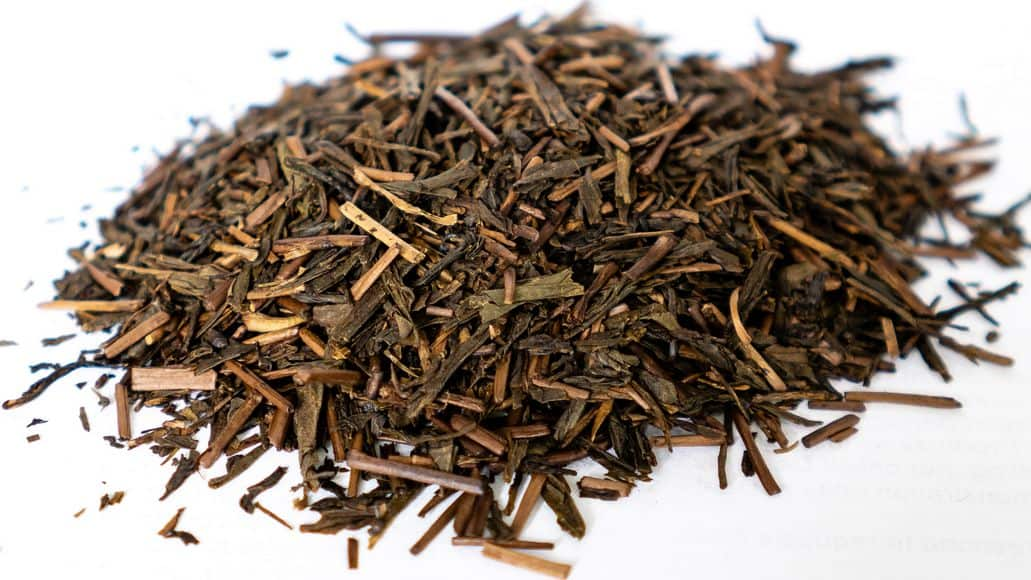 Houjicha roasted green tea from Japan