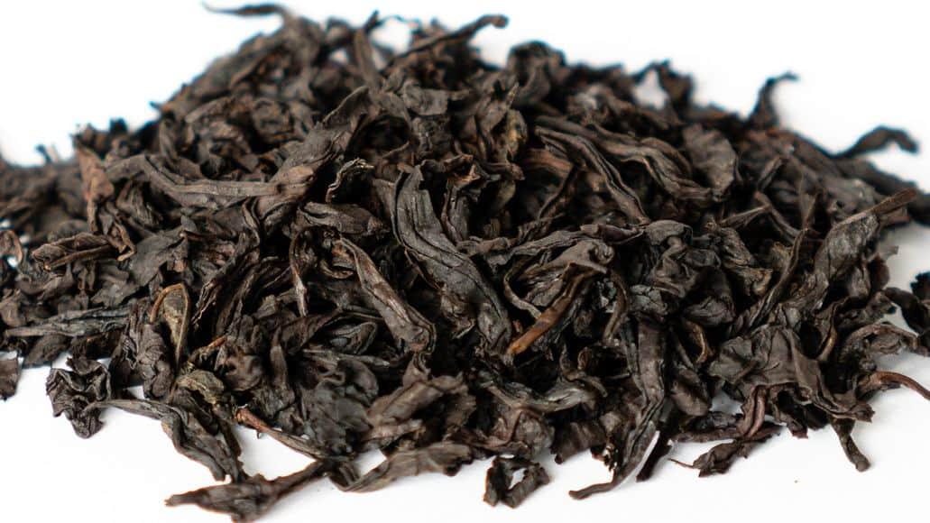 Dahongpao tea leaves from China