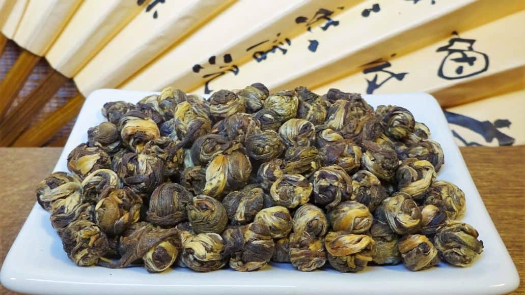 Jasmine pearl tea balls