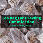 Tea Bag For Drawing Out Infection