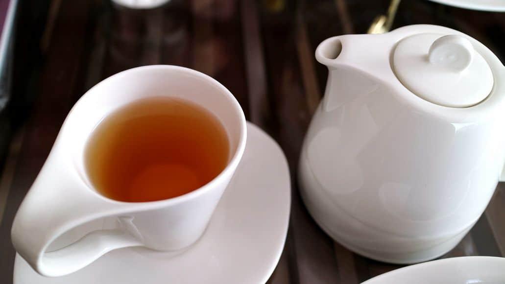cup of oolong tea