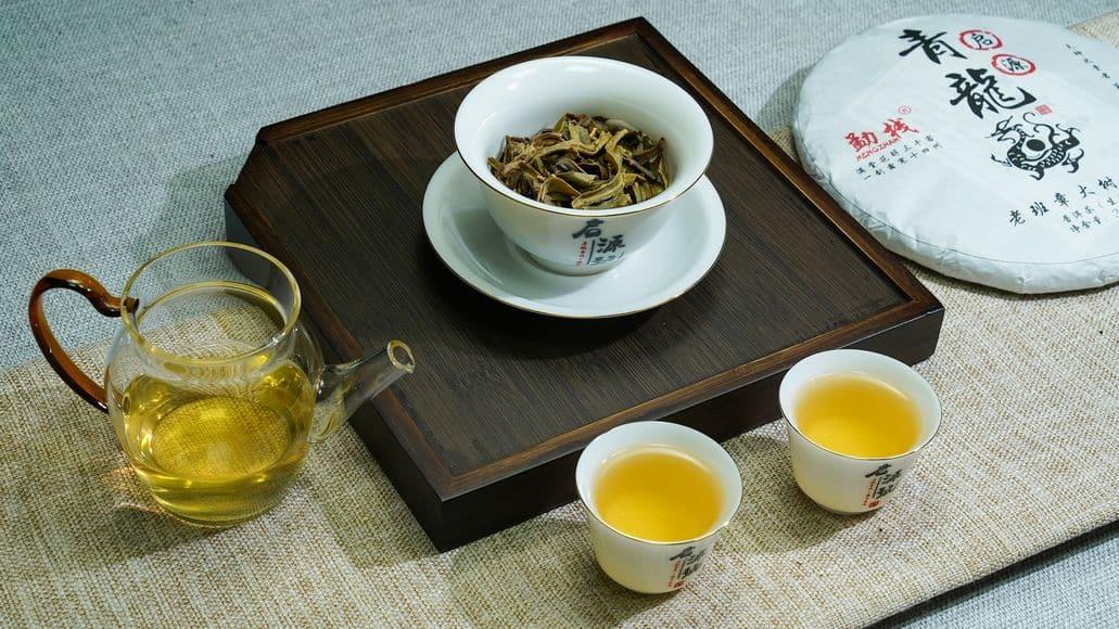 pu er tea set
